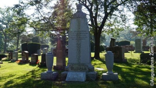 Jono Šliūpo kapas Lietuvių tautinėse kapinėse Čikagoje