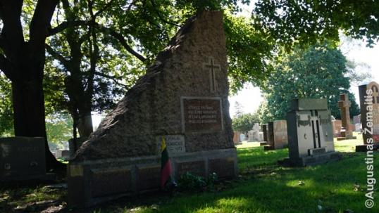 General Povilas Plechavičius grave