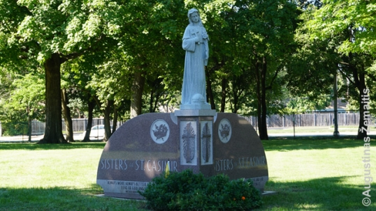 St. Casimir Sisters memorial and burial site