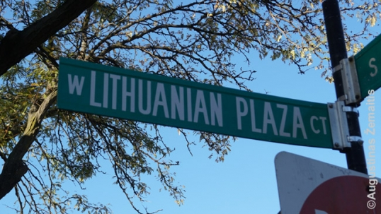Lithuanian Plaza street name
