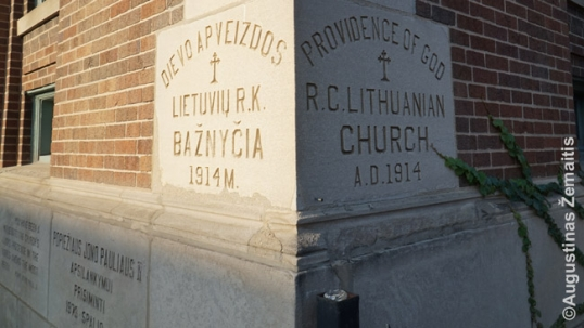 Cornerstone of the Providence of God Lithuanian church