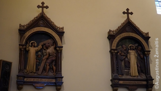 Lithuanian stations of the cross at the Providence of God church