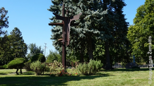 Jesuit Fathers memorial at the St. Casimir Lithuanian cemetery of Chicago