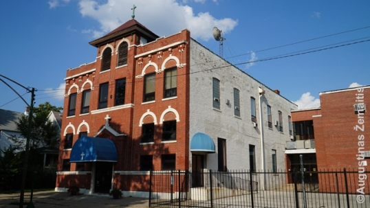 Old Ss. Peter and Paul Lithuanian church of West Pullman which served as a school