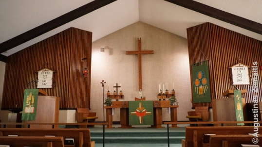 Zion Lithuanian Lutheran church (main hall)