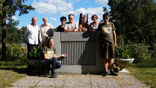 Su Beverli Šoro lietuviais Lituanica parke