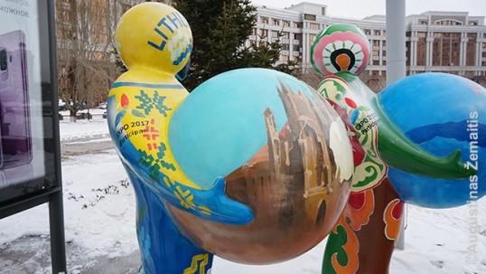 Expo 2017 lietuviškas kamuolys Astanoje