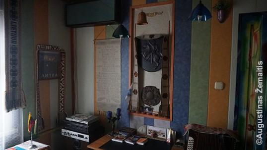 Karagandos lietuvių namo-muziejaus vidus
