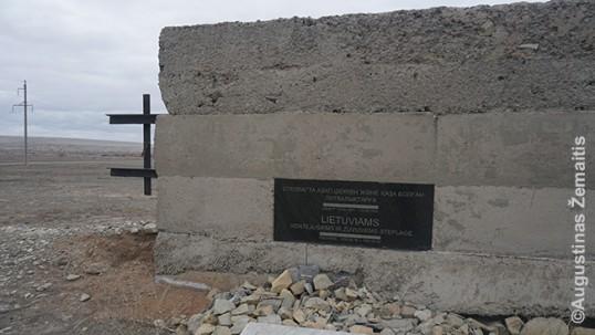 Kingyro paminklo lietuviams šonas