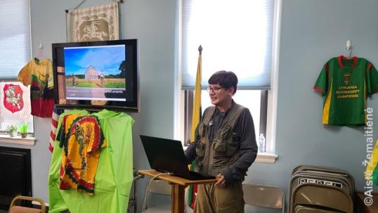 Tikslas - Amerika pristatymas Niujorko apreiškimo parapijoje