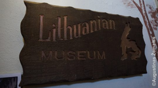 Entrance to the Baltimore Lithuanian museum