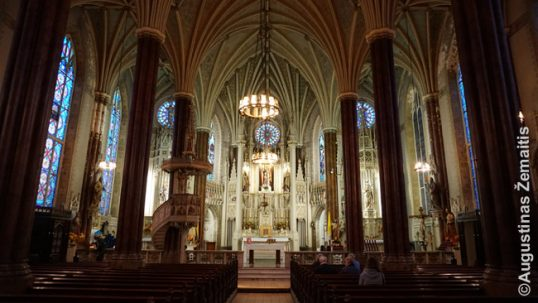St. Alphonsus Lithuanian shrine in Baltimore interior