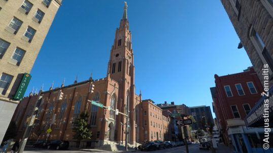 St. Alphonsus Lithuanian church in Baltimore