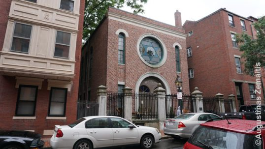 Vilna Shul synagogue in Boston