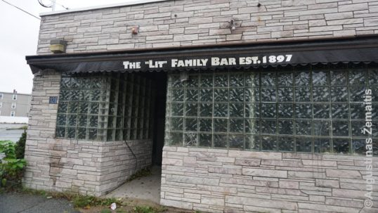 The Lit bar in Brockton Lithuanian Village