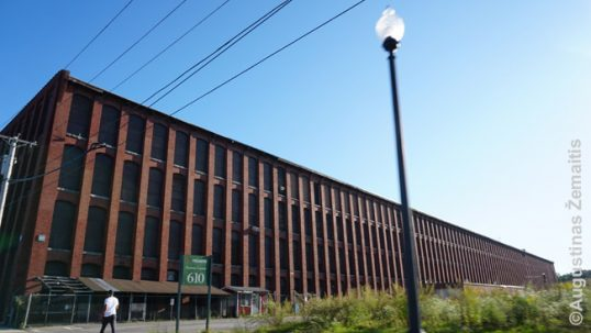 A former textile factory in Lawrence