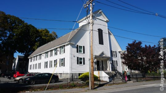Lowell Lithuanian church
