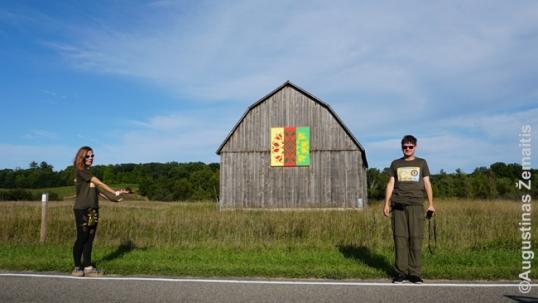 Prie Lietuviško kluono Kasteryje