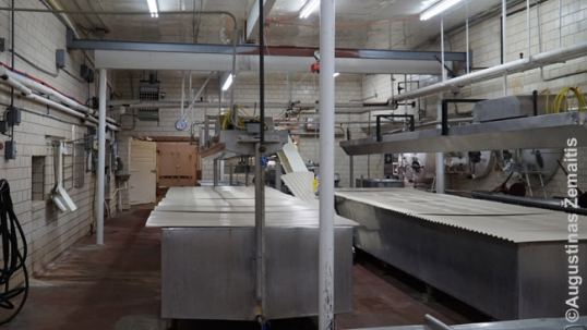 Andrulis cheese factory interior
