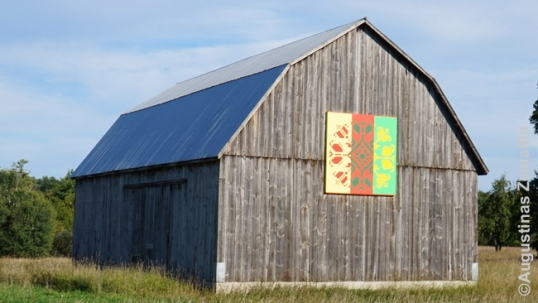 Lithuanian-owned barn with a Lithuanian decor in Custer area