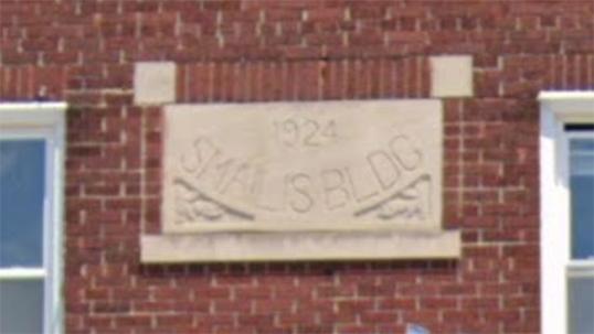 SMAILIS BLDG 1924 plaque (Google Street View)