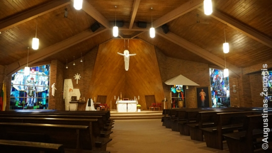 Divine Providence church interior