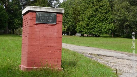 Netikinčių lietuvių kapinių įėjimas