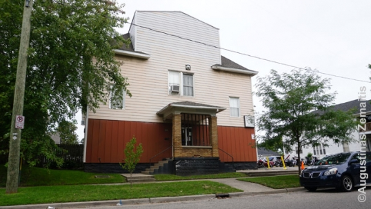 St. George Aid Society building