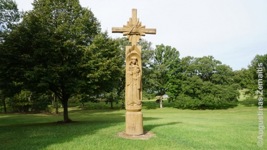 St. Casimir cross in Dainava
