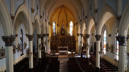Elizabeth Lithuanian church interior, looking from the choir