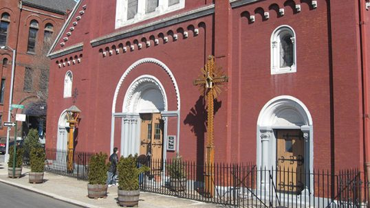 New York Annunciation Lithuanian church exterior