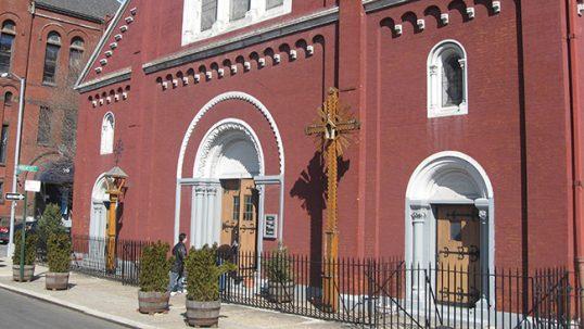 Niujorko Apreiškimo lietuvių bažnyčios išorė