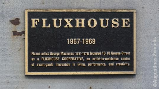 Fluxhouse atminimo lenta