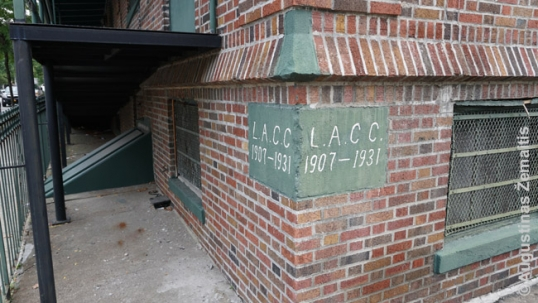 Cornerstone of the Lithuanian-American Citizens Club