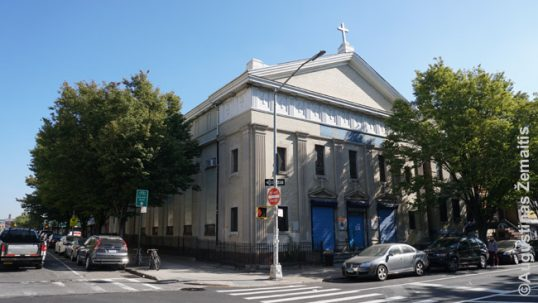 Marijos, Angelų Karalienės lietuvių bažnyčia Niujorke