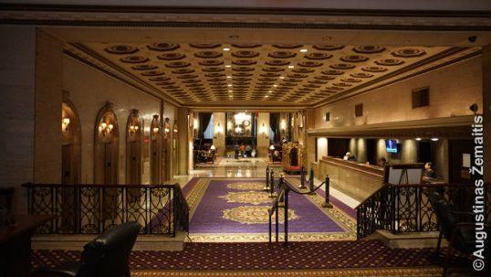 Ruzvelto viešbutis, kuriame dirbo Antanas Škėma