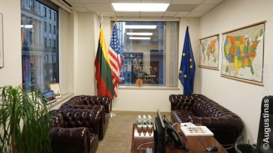 Lithuanian consulate interior