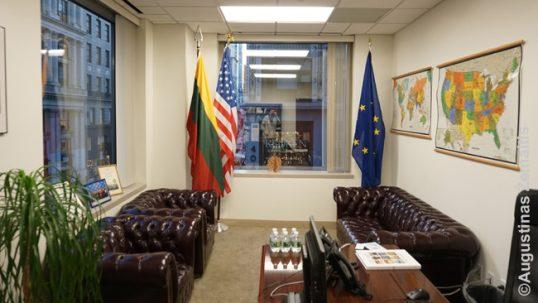 Lietuvos konsulato Niujorke vidus