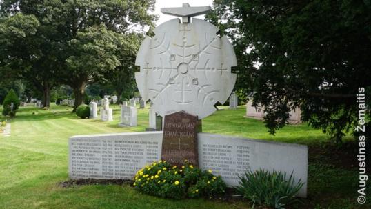 Lietuvių pranciškonų paminklas Brukline