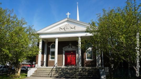 Niagara Folso lietuvių Šv. Jurgio bažnyčia