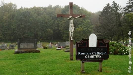 St. George Lithuanian cemetery in Utica