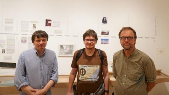 Tikslas - Amerika vadovas Augustinas Žemaitis su Daniumi Glinskiu ir Juliumi Ludavičiumi Susivienijime lietuvių Amerikoje