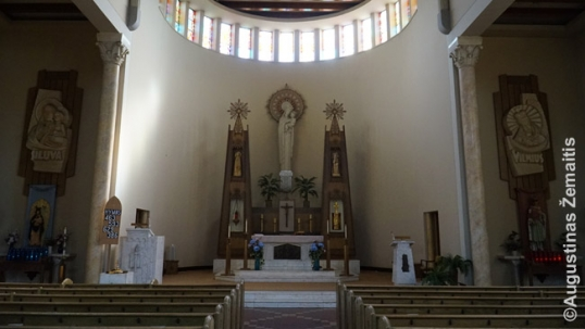 Our Lady of Perpetual Help church altar