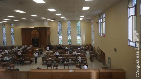 Telšių ješivos mokslo salė