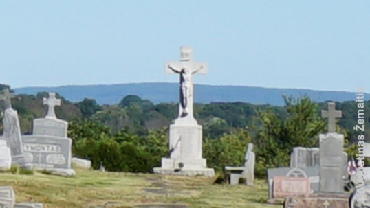 Minersville Lithuanian cemetery and World War 2 memorial