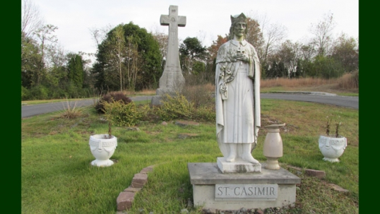 St. Casimir in the St. Clair Lithuanian cemetery