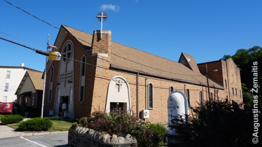 Tamaqua Lithuanian church