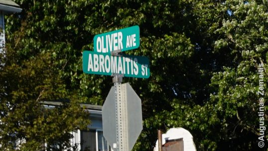 Abromaitis street in Bentleyville