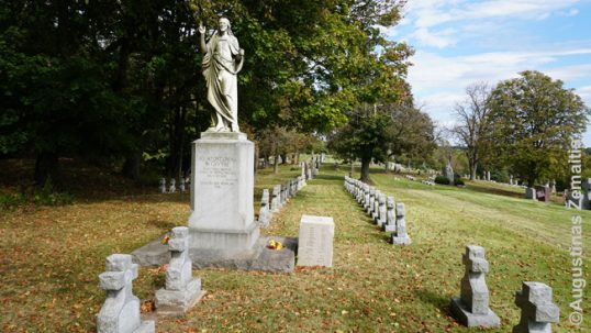 Pittsburgh St. Casimir cemetery Nuns' memorial