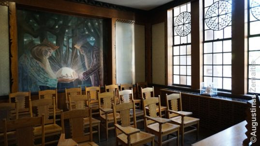 Lithuanian classroom in the Pittsburgh Cathedral of Learning